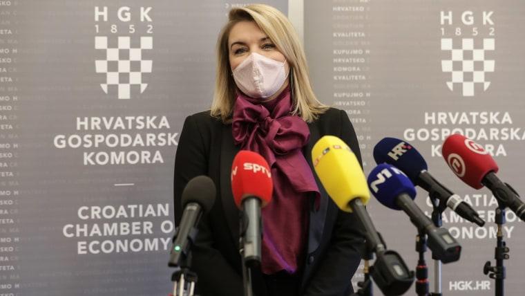 Tourism Minister Nikolina Brnjac (Photo: Robert Anic/PIXSELL)
