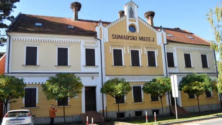 Zgrada šumarskog muzeja. (Foto: hrsume.hr)