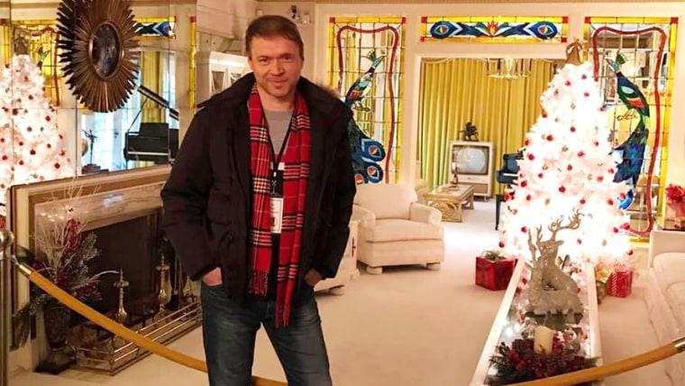 Robert Mareković u Gracelandu (Foto: privatni album)