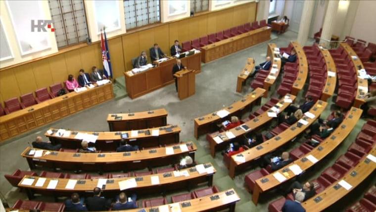 Parlamento (foto: HRT)