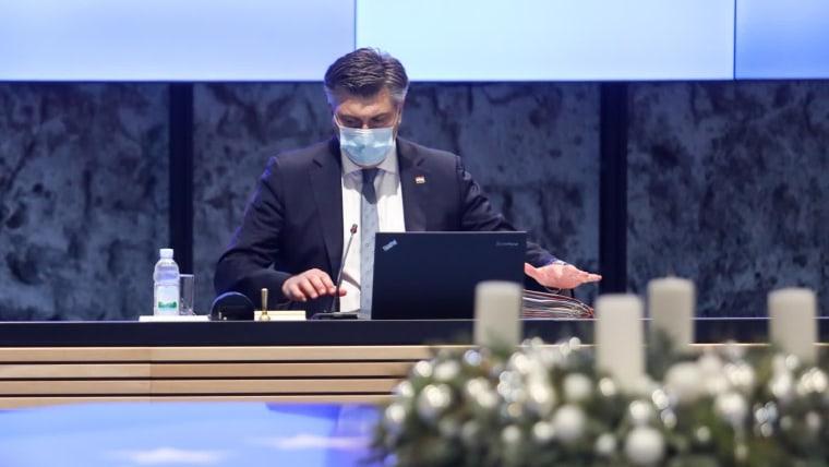 Primer ministro Andrej Plenković (Foto: Borna Filic/PIXSELL)