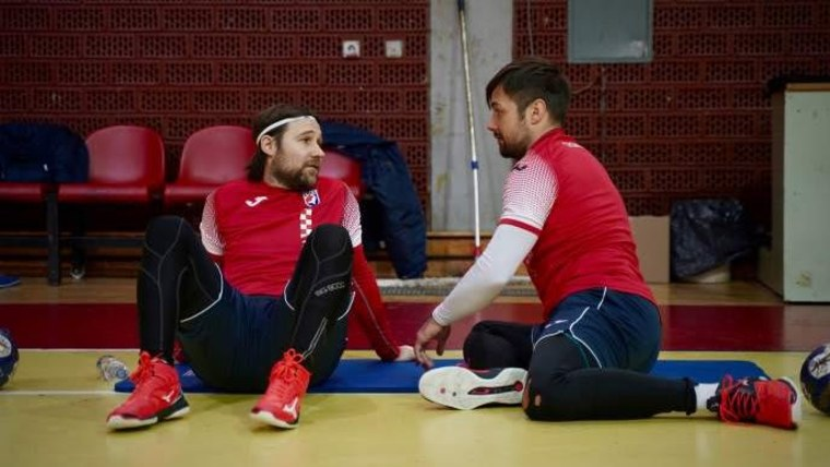 Die Handballnationalspieler Ivan Čupić und Zlatko Horvat (Foto: Hrvaski rukometni savez)