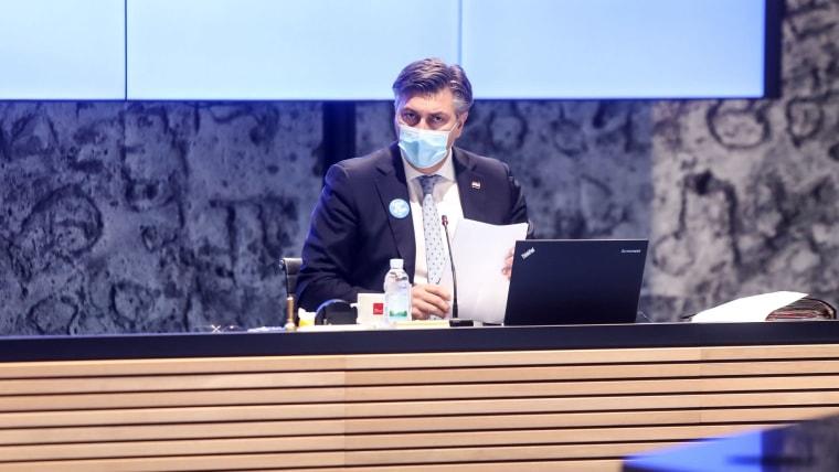 Prime Minister Andrej Plenković (Photo: Marin Tironi/PIXSELL)