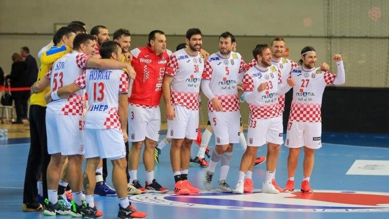 Die kroatische Handballnationalmannschaft (Foto: Srecko Niketic/PIXSELL)
