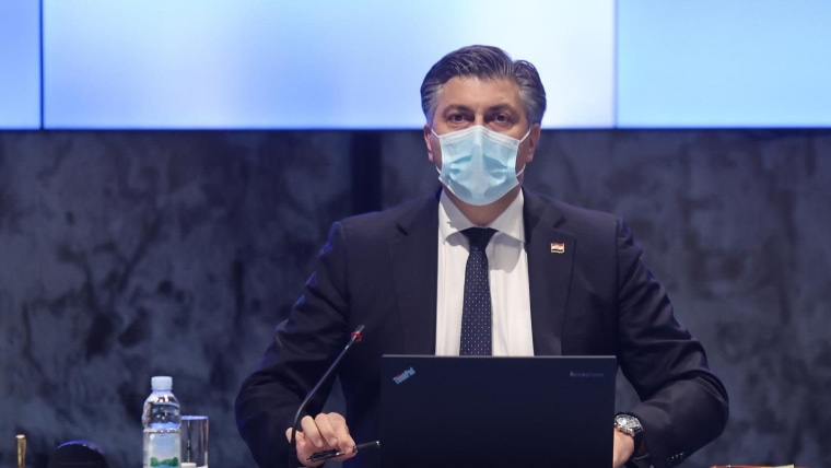 Premier Andrej Plenković (Foto. Marko Prpic/PIXSELL)