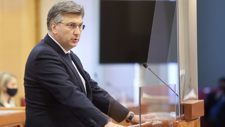 Prime Minister Andrej Plenković (Photo: Marko Prpic/PIXSELL)