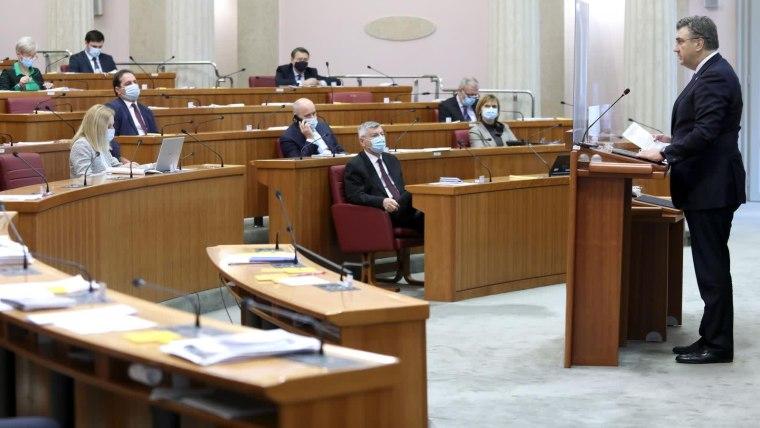 Parlamento (Foto: Patrik Macek/PIXSELL)