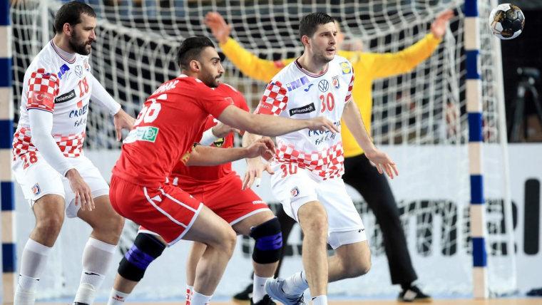 Kroatien gegen Bahrain (Foto: Slavko Midzor/PIXSELL)
