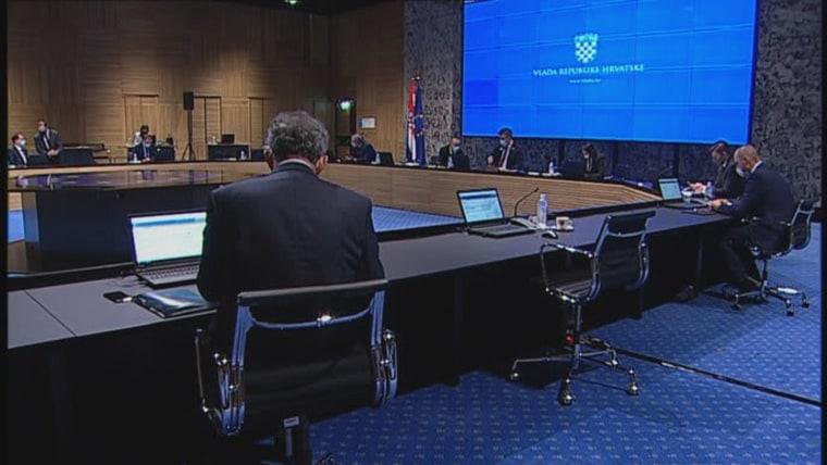 sesión del Gabinete (Foto: HRT)