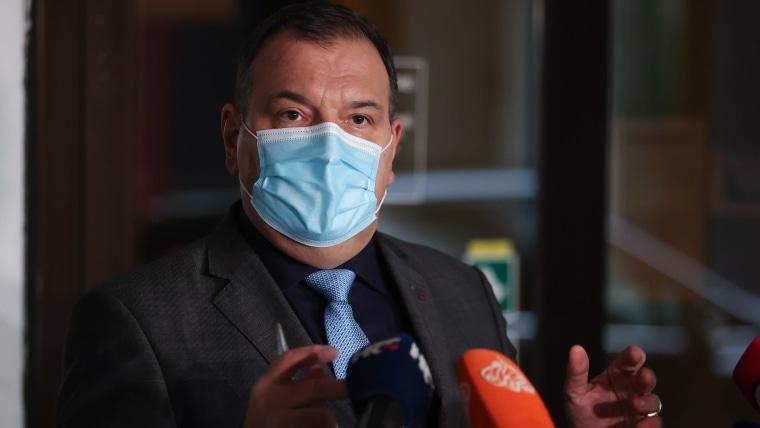Gesundheitsminister Vili Beroš (Foto: HRT)