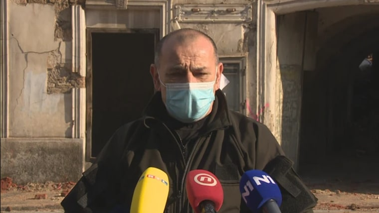 The head of the Earthquake Recovery headquarters Tomo Medved (Photo: HRT)
