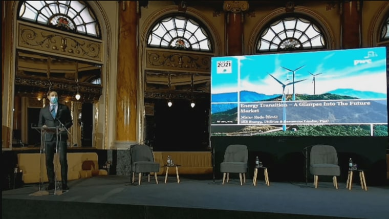 Energy Conference in Zagreb (Screenshot: HRT)