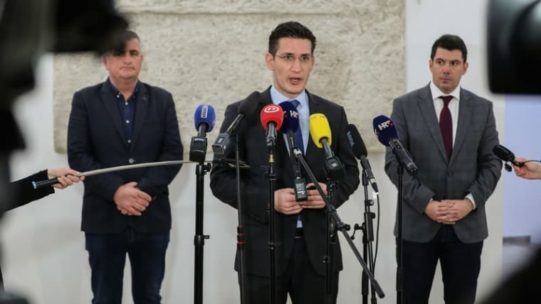 Zvonimir Troskot, Abgeordneter der MOST (Foto: Jurica Galoic/PIXSELL)