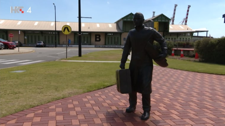 Kip useljenika u Zapadnu Australiju (Foto: HRT)