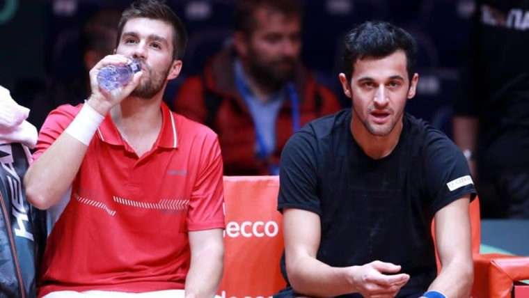 Mate Pavić/Nikola Mektić (Foto: Sanjin Strukić / PIXSELL)