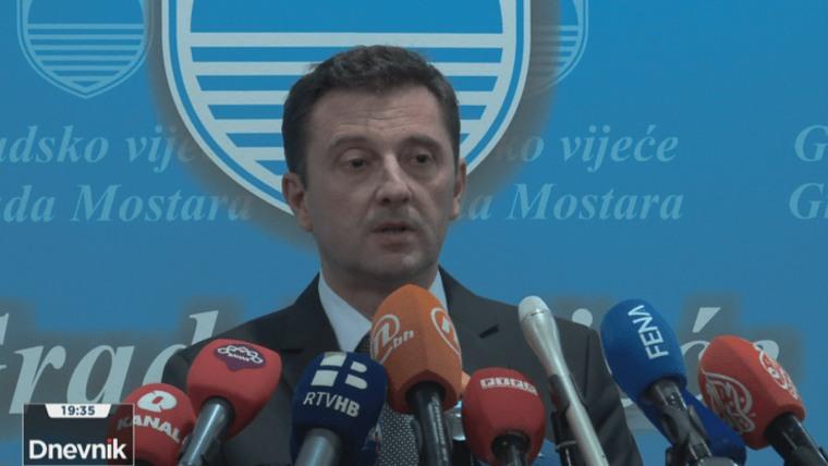 Der neue Bürgermeister von Mostar (Foto: HRT)