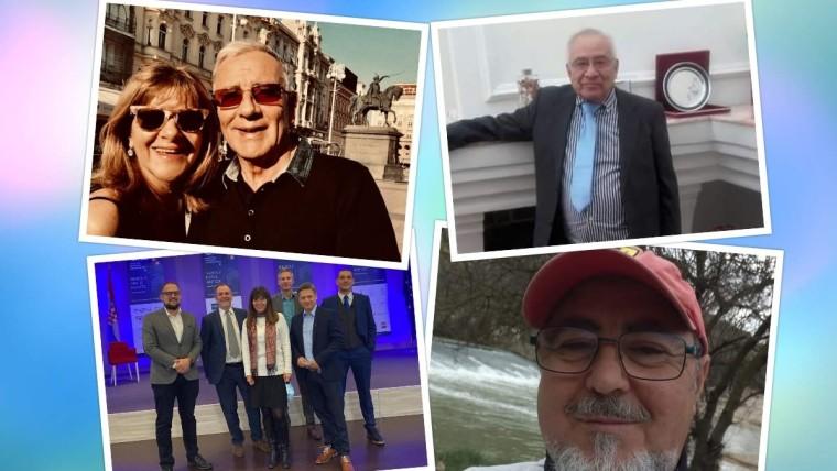 Arturo Conte, dr. Emilio Guachalla, Josip Hrgetić, Juan Vicente Rodrigues (Foto: archivos personales)