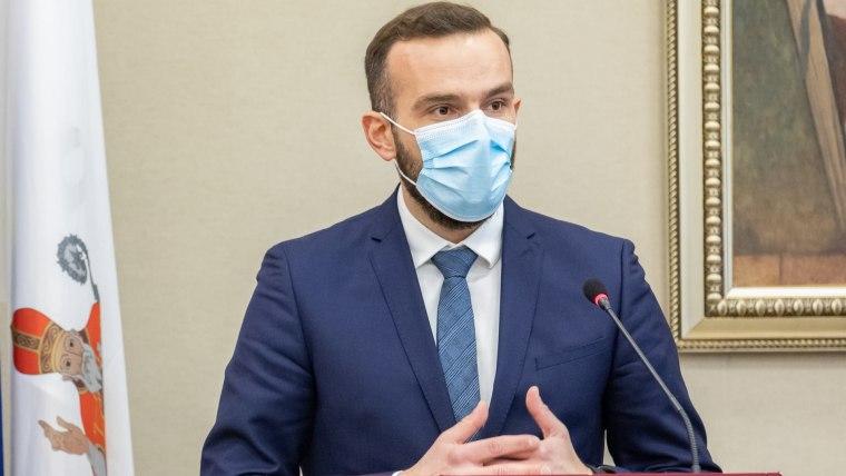 Labour Minister Josip Aladrović (Photo: Grgo Jelavic/PIXSELL)