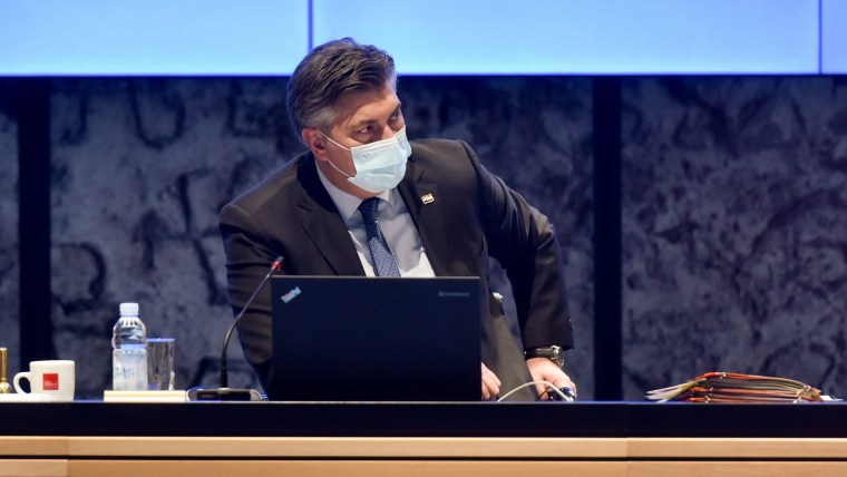 Prime Minister Andrej Plenković (Photo: Davorin Visnjic/PIXSELL)
