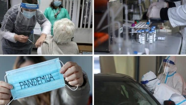 Coronavirus (Foto: Igor Kralj/Zeljko Lukunic/Kristina Stedul Fabac/Goran Kovacic / Pixsell)