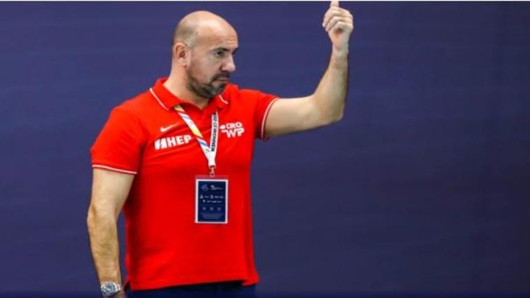 Trainer Ivica Tucak (Foto: Hrvatski vaterpolski savez / HRT)