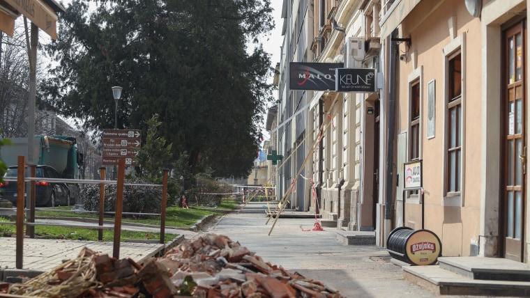 Die Stadt Petrinja nach dem Erdbeben (Foto: Luka Stanzl/PIXSELL)