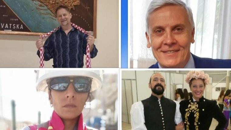 Gabriel Uzelac, Eduardo Antonich, Maria Eugenia Torres Tonković, Guillermo Terrazas (Foto: archivos personales)