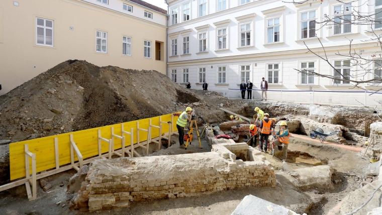 Ausgrabungen in Zagreb (Foto: Patrik Macek/PIXSELL)