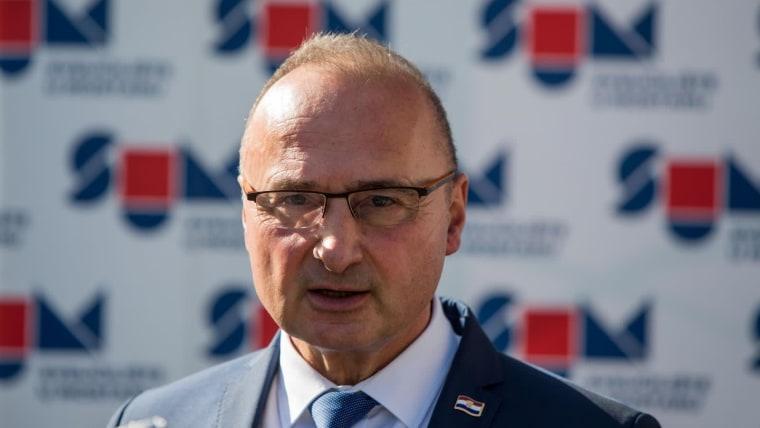 Gordan Grlić Radman, Minister für europäische und auswärtige Angelegenheiten (Foto: Denis Kapetanović/ Pixsell)