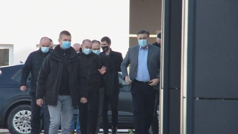 Andrej Plenkovic en Banovina (foto: HRT)