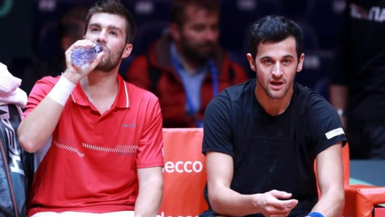 Mektić und Pavić (Foto: Sanjin Strukic / PIXSELL)