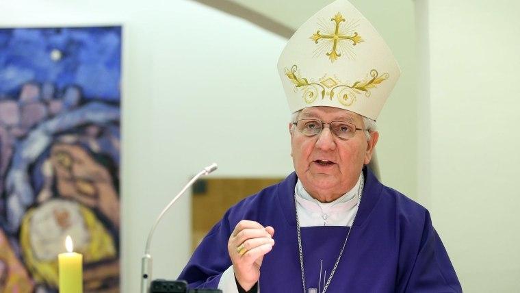 Banjalučki biskup, mons. dr. Franjo Komarica (Foto: Goran Stanzl/PIXSELL)
