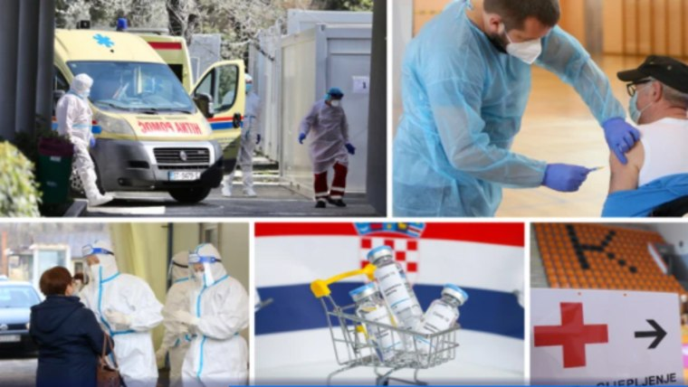 The fight against the coronavirus (Photo: Ivo Cagalj/Zeljko Lukunic/Kristina Stedul Fabac/Hrvoje Jelavic / PIXSELL)