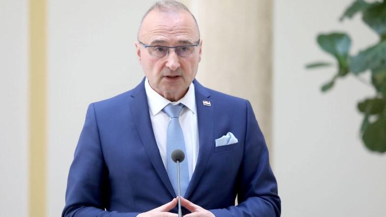 Foreign and European Affairs Minister Gordan Grlić Radman (Photo: Patrik Macek/PIXSELL)