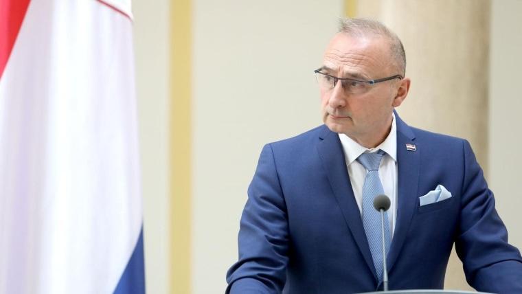 Gordan Grlić Radman, kroatischer Außenminister (Foto:Patrik Macek/PIXSELL)