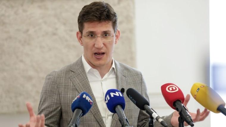 Zvonimir Troskot, Most-Partei (Foto:Robert Anić/Pixsell)