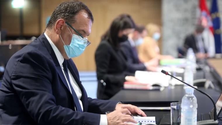 Health Minister Vili Beroš (Photo: Marin Tironi/PIXSELL)