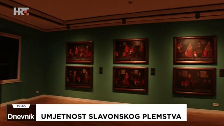 """Ausstellung """"Kunst des slawonischen Adels - Spitzenwerke des europäischen Erbes"""" (Foto: Dnevnik / IMS / HTV / HRT)"""
