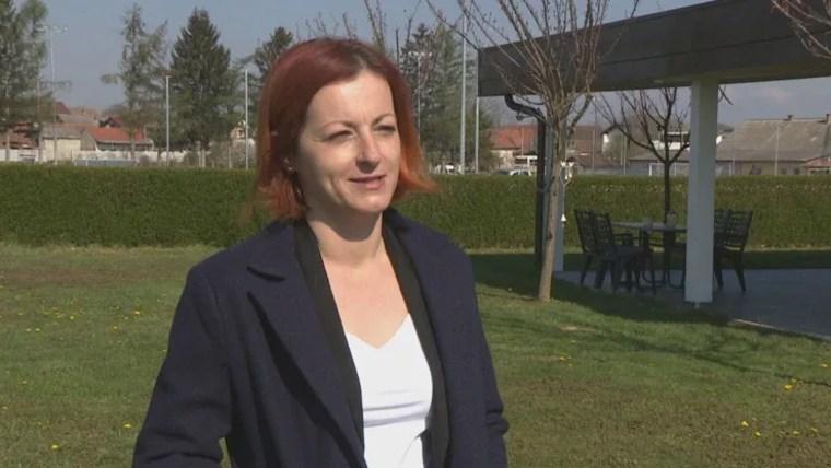 Povratnica iz Švicarske, ŠteficaMurković Strahija. (Foto: hrt.hr/ snimka zaslona)