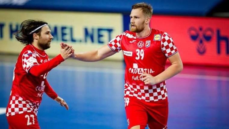 Ivan Čupić und David Mandić (Foto: Kroatischer Handballverband / HRS)
