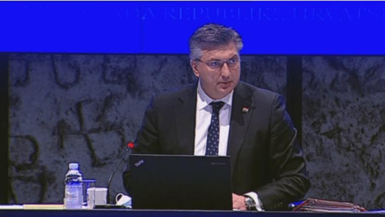 Prime Minister Andrej Plenković (Photo: HRT/IMS)
