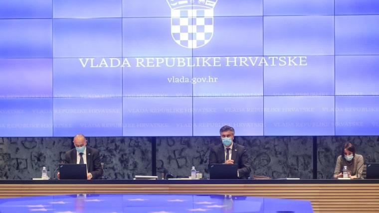 Sitzung der Regierung in Zagreb  (Foto: HRT)