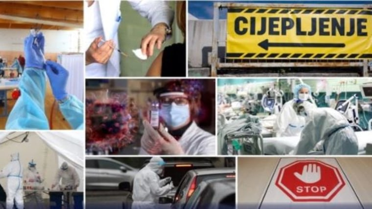 The fight against the coronavirus (Photo: Kristina Stedul Fabac/Dusko Jaramaz/Milan Sabic/Hrvoje Jelavic/Sasa Miljevic/Igor Kralj/Zeljko Lukunic / PIXSELL)
