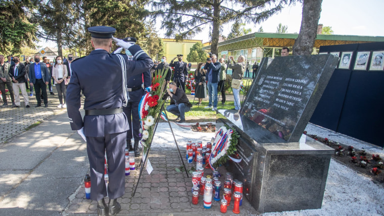 30 years since tragic death of 12 police officers in a rebel Serb ambush in Borovo Selo (Photo: Davor Javorovic/PIXSELL)