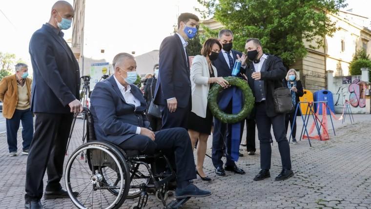 Die Zagreber Delegation (Foto: Borna Filic/PIXSELL))