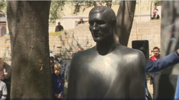 Denkmal Mate Parlov (Foto: HTV / HRT)
