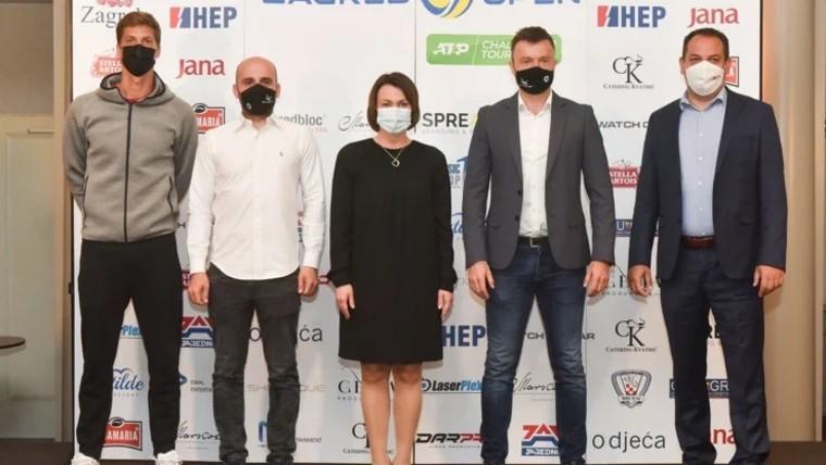 Die Pressekonferenz in Zagreb (Foto: Davorin Visnjic / PIXSELL)