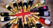 selection_of_English_sparkling_wine_bottles