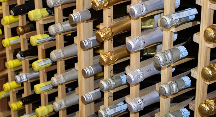 champagne-storage