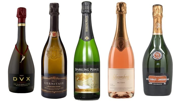selection_of_American_sparkling_wines